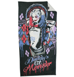 Suicide Squad Towel Harley Quinn 150 x 75 cm