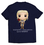 Game of Thrones T-Shirt Daenerys Targaryen Bling Art