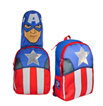 Marvel Comics Hooded Backpack Captain America