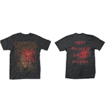 Cannibal Corpse T-shirt Impact Splatter