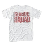 Suicide Squad T-shirt Logo Line Up