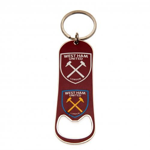 Buy Official West Ham United F C Bottle Opener Keychain