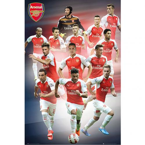 Arsenal F.C. Poster Players 16