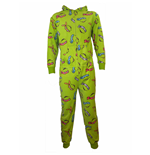 Teenage Mutant Ninja Turtles Onesie Faces