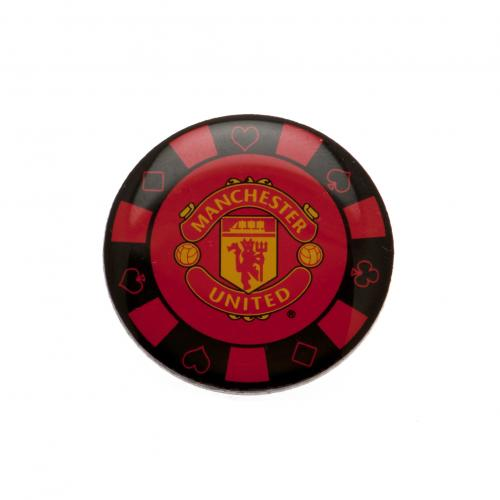Manchester United F.C. Poker Chip Badge