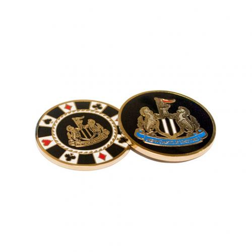 Newcastle United F.C. Casino Chip Ball Marker