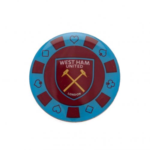 West Ham United F.C. Poker Chip Badge