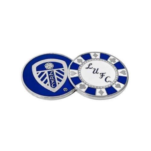 Leeds United F.C. Casino Chip Ball Marker