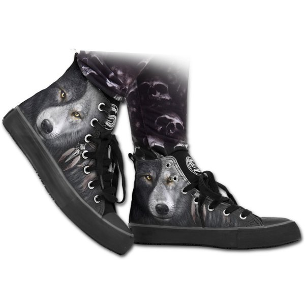 Wolf Chi - Sneakers - Ladies High Top Laceup