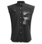 Shadow Master - Sleeveless Stone Washed Worker Black
