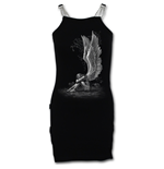 Enslaved Angel - Camisole Chain Dress Black