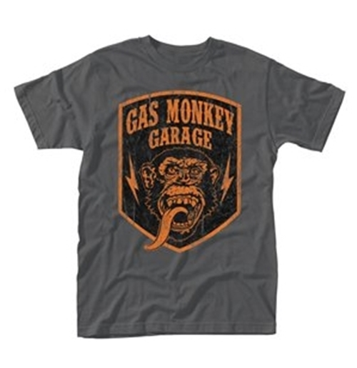 Official Gas Monkey Garage T-shirt Shield: Buy Online On Offer
