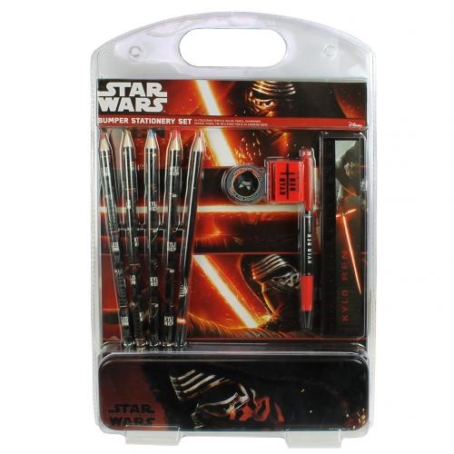 Star Wars The Force Awakens Bumper Stationery Set