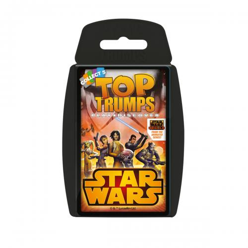 Star Wars Rebels Top Trumps
