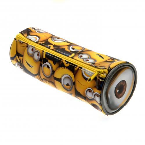 Despicable Me Barrel Pencil Case Minions