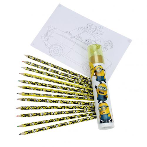 Despicable Me Colouring Pencil Tube