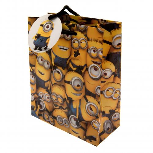 Despicable Me Minion Gift Bag Small