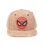 Spider-Man Snap Back Baseball Cap Cork Ultimate Spider-Man Logo