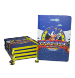 Sonic the Hedgehog Notebook A5 Game Over