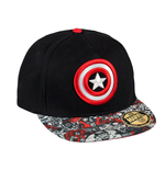 Marvel Comics New Era Cap Captain America Shield Logo