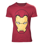 Marvel Comics T-Shirt Civil War Iron Man Mask