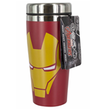 Marvel Comics Travel Mug Iron Man Face