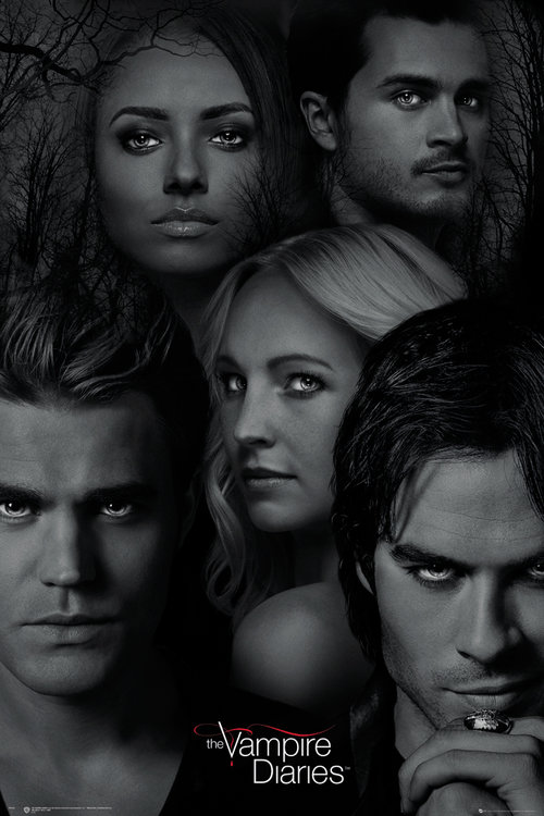 Vampire Diaries Faces Maxi Poster