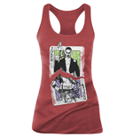 Suicide Squad Tank Top - Cards Red