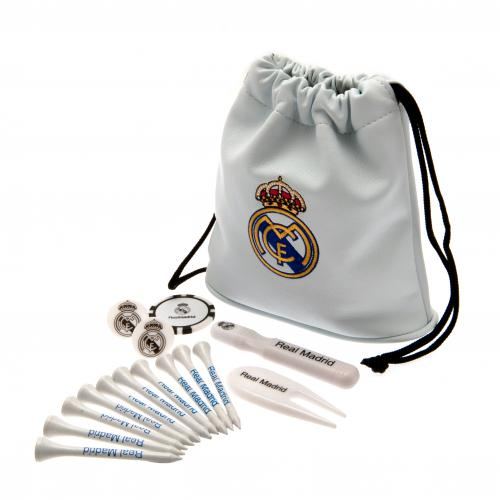 Real Madrid F.C. Tote Bag Golf Gift Set