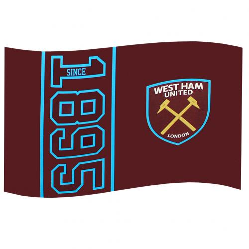 West Ham United F.C. Flag SN