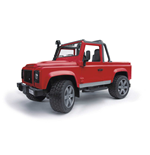 Bruder 02591 - Land Rover Defender Pick Up Diecast Model