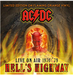 Vynil Ac/dc - Hell's Highway   Live On Air 1974 '79 Orange Vinyl