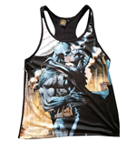 Batman Sublimation Girlie Tank Top Kiss Catwoman