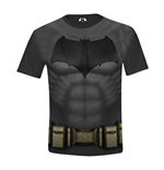 DC COMICS Batman vs Superman: Dawn of Justice Kids Boy Batman Costume T-Shirt, 8/128, Multi-Colour