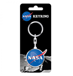 NASA Metal Keychain Badge 5 cm