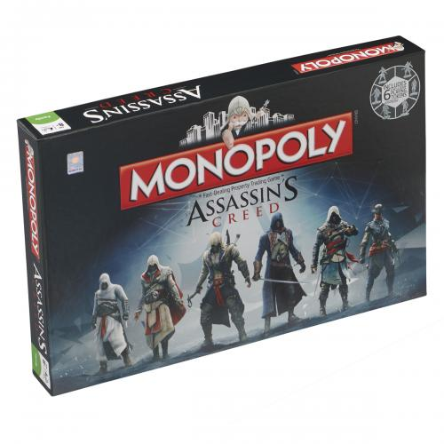 Official Assassins Creed Edition Monopoly: Buy Online on Offer