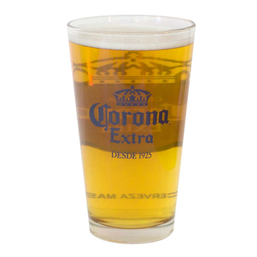 Official Corona Extra Round Logo Pint Glass Buy Online On