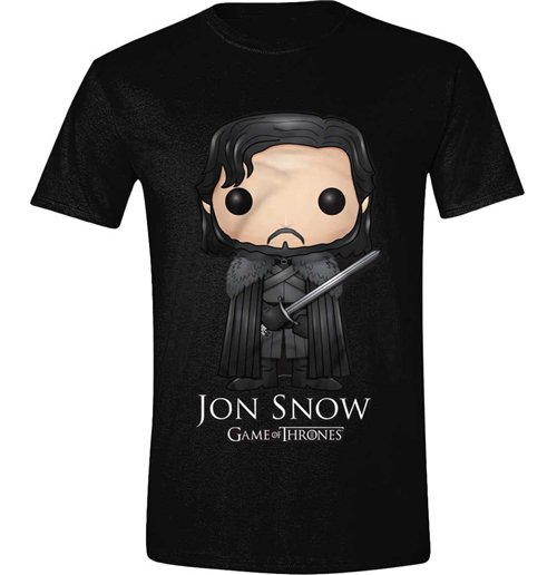 Game of thrones t shirt pop art jon snow for only 18 for Game t shirts uk
