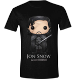 Game of Thrones T-shirt - Pop Art Jon Snow