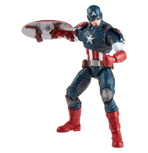 buy marvel legends series action figure 2016 captain america 30 cm. Black Bedroom Furniture Sets. Home Design Ideas
