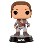 Star Wars Episode VII POP! Vinyl Bobble-Head Figure Rey Final Scene Lightsaber Hilt 9 cm