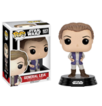 Star Wars Episode VII POP! Vinyl Bobble-Head Figure General Leia 9 cm