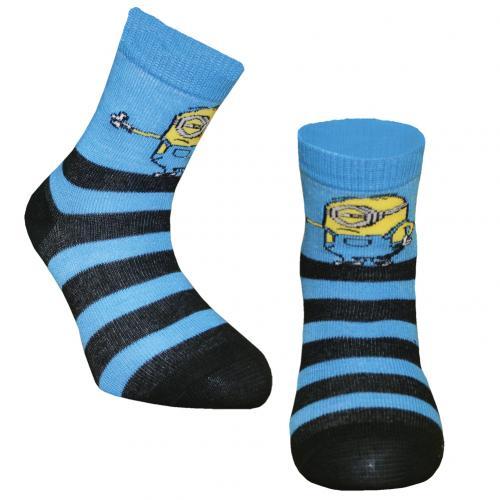Minions Boys Socks 1 Pack Junior 12.5-3.5 ST