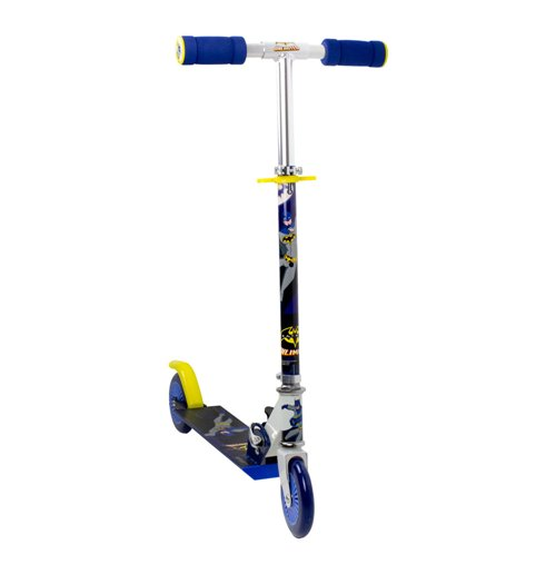 DC COMICS Batman Unlimited 2 Wheel Inline Scooter with Adjustable Handlebar