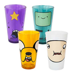 ADVENTURE TIME 4 Pack Pint Glasses