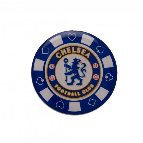 Chelsea F.C. Poker Chip Badge