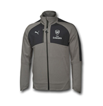 2016-2017 Arsenal Puma Performance Coach Jacket (Grey)