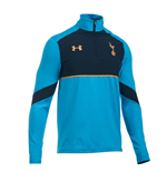2016-2017 Tottenham Quarter Zip Training Top (Capri Blue)
