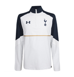 2016-2017 Tottenham Quarter Zip Training Top (White)