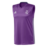 2016-2017 Real Madrid Adidas Sleeveless Jersey (Purple)